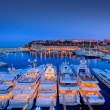 Yacht Harbour at Night