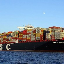 MSC Oscar ship
