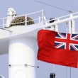 0Red Ensign on ship