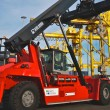 Kalmar Demonstrates LNG Powered Reachstacker