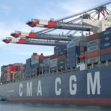 cma cgm laparouse at cmit photo